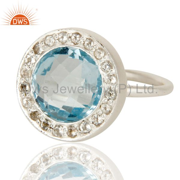 Latest Designs silver gemstone jewelry supplier Ring