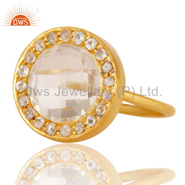 Latest Designs gold plated fashion jewelry wholesaler Ring