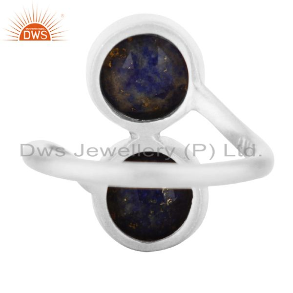 Suppliers 925 Sterling Silver Lapis Lazuli Gemstone Ring