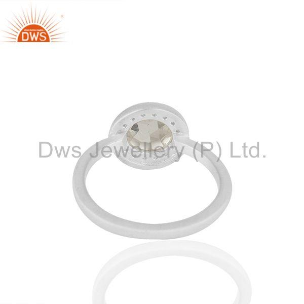 Suppliers Multi Gemstone 925 Silver Customized Rings Jewelry Manufacturer