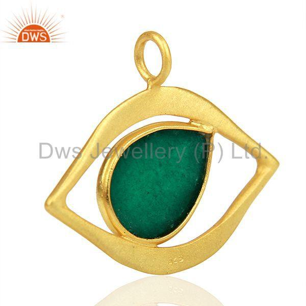 Suppliers Handmade 925 Silver Gold Plated Gemstone Jewelry Findings Suppliers