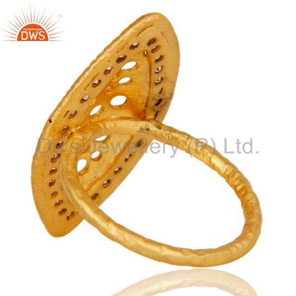 Suppliers Cz Studded Art Designer Fashion Ring