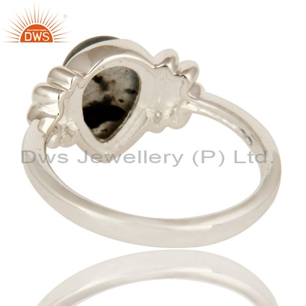 Suppliers 925 Sterling Silver Labradorite Semi Precious Gemstone Women Ring