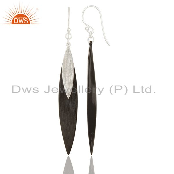 Suppliers Mind Blowing Solid 925 Sterling Silver Handmade Simple Design Drops Earrings