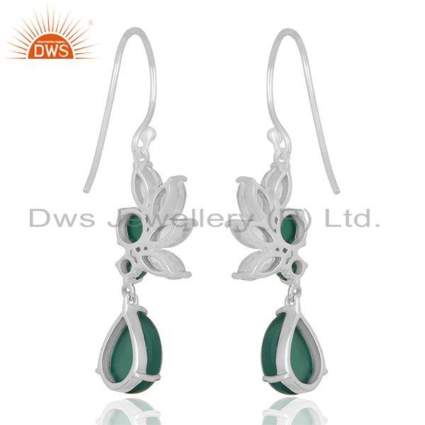 Suppliers Multi Gemstone 925 Silver Designer Earrings Jewelry Manufacturer