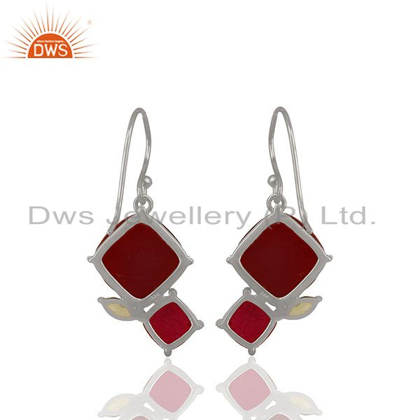 Suppliers Designer 925 Silver Multi Gemstone Women Gift Earrings Wholesale