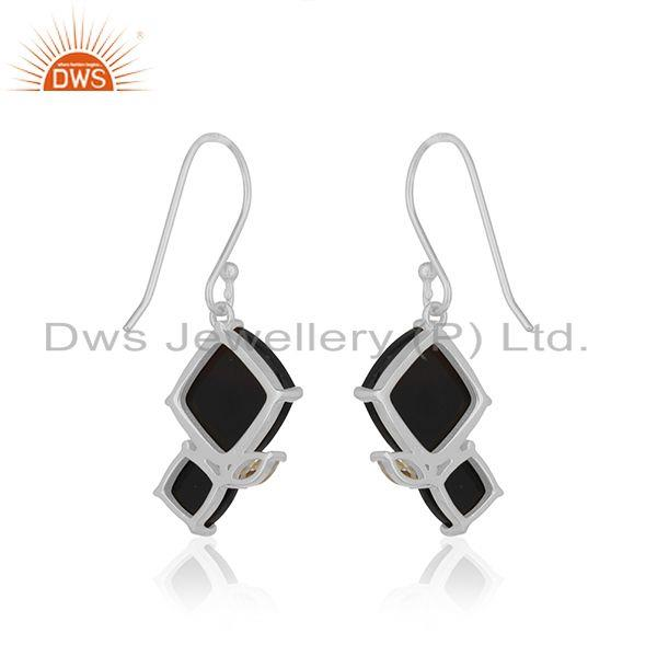 Suppliers New Designer Sterling 92.5 Silver Earrings Manufacturer from India