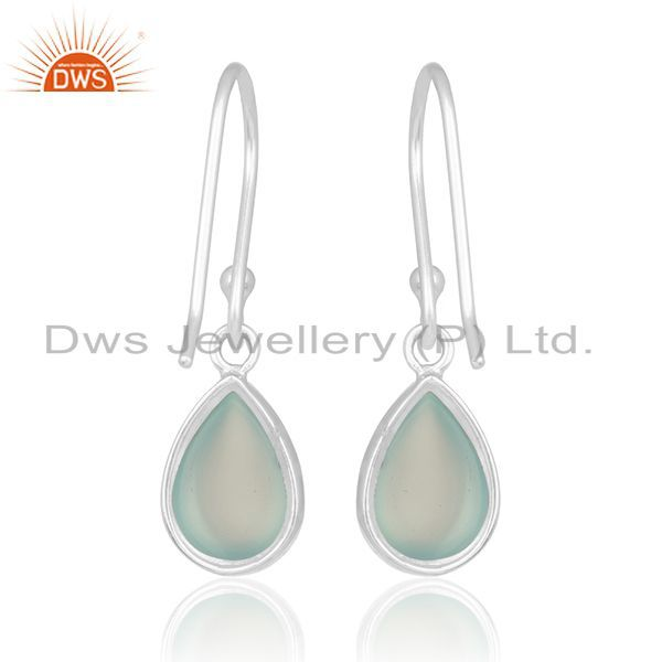 Suppliers Handmade 925 Sterling Silver Gemstone Private Label Earring Manufacturer