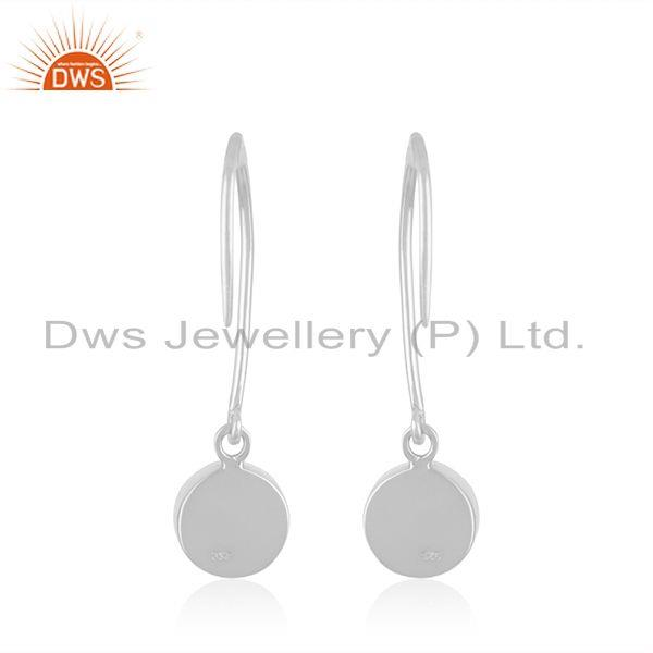 Suppliers Natural Rainbow Moonstone Fine Sterling Silver Womens Earring Jewelry Wholesale