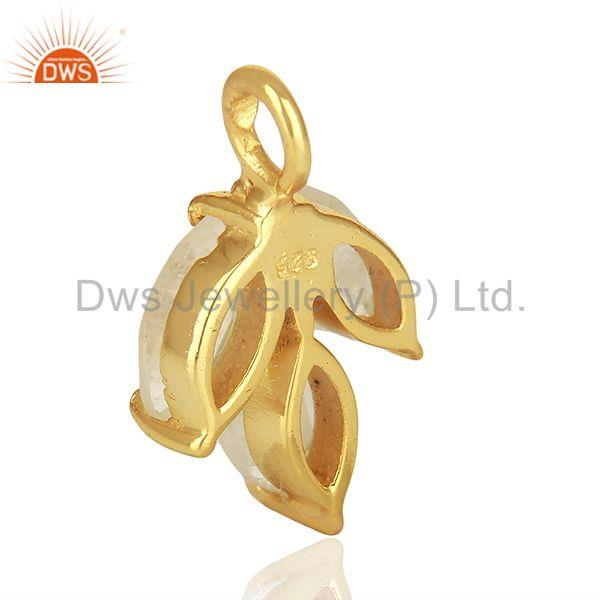 Suppliers Solid 925 Silver Gold Plated Gemstone Jewerly Findings Manufacturer