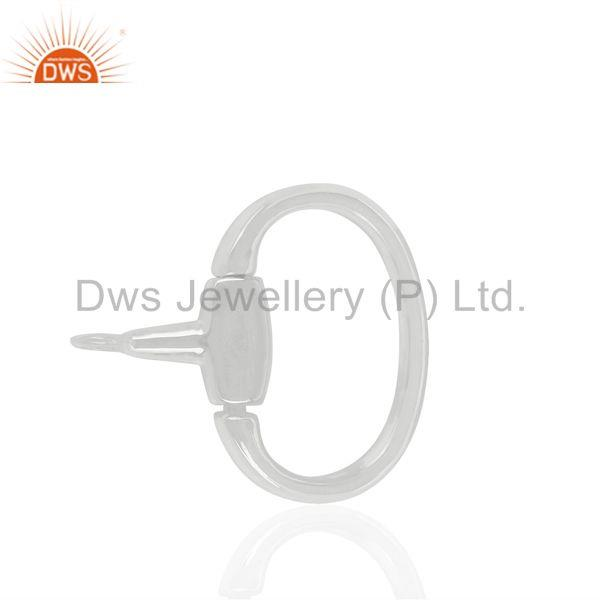 Suppliers Fine Sterling 925 Silver Jewelry Connector Findings Manufacturer