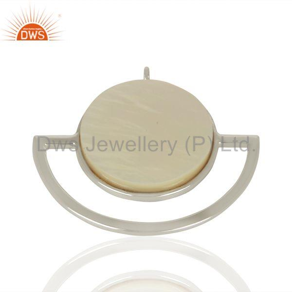 Suppliers Mother of Pearl Gemstone Sterling Silver Pendant Jewelry Manufacturer