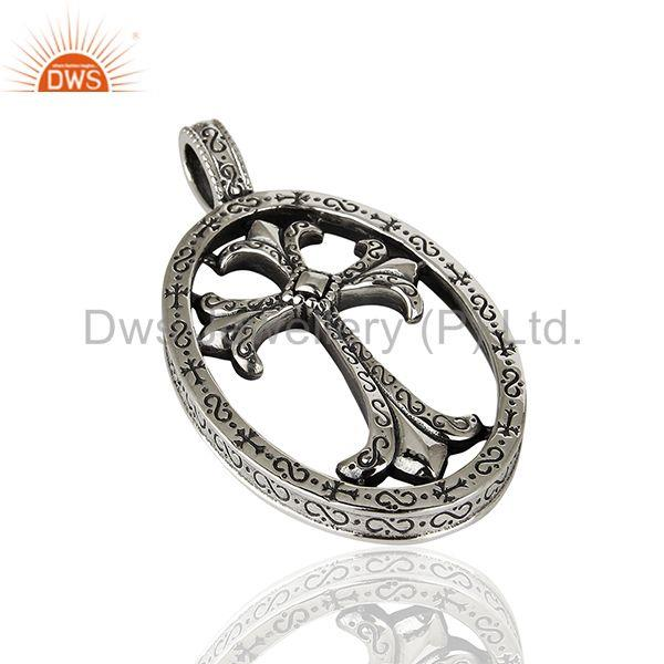 Suppliers CH Cross 92.5 Sterling Silver Pendant And Necklace Jewelry