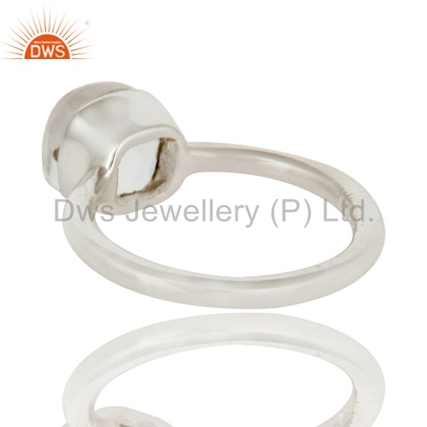 Suppliers Handmade Sterling Silver Crystal Quartz Gemstone Stackable Ring