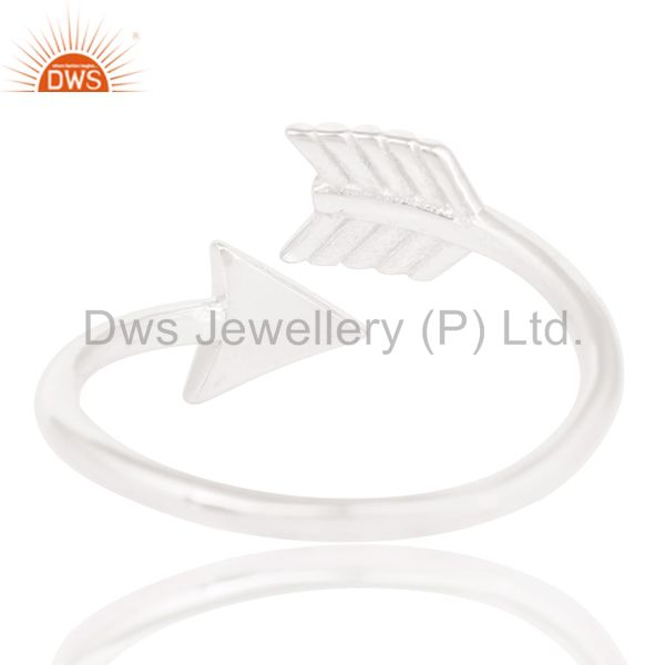 Suppliers Solid 925 Sterling Silver Handmade New Fashion Design Stackable Ring Jewelry