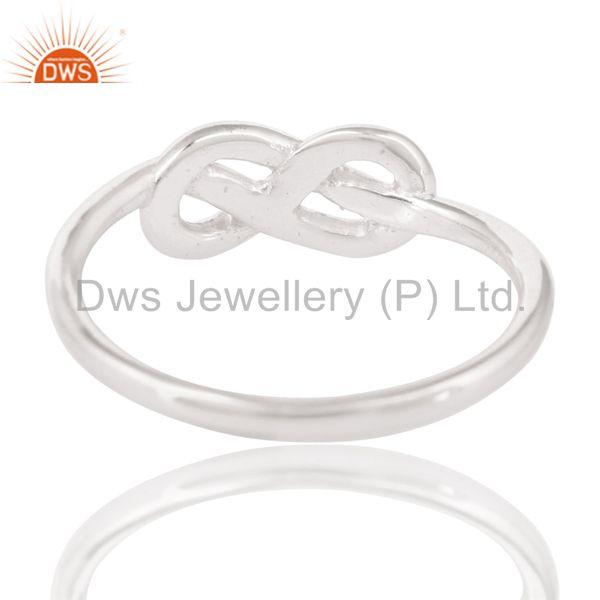 Suppliers Handmade Solid 925 Sterling Silver Without Stone Beautiful Fashion Ring Jewelry