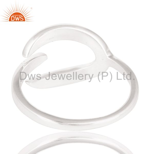 Suppliers Handmade Beautiful Unique Design Ring With Solid 925 Sterling Silver