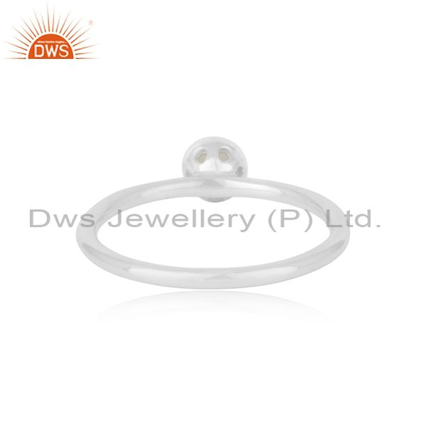 Suppliers Rainbow Moonstone Fine Sterling Silver Gemstone Rings Manufacturer