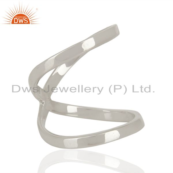 Suppliers Designer 925 Sterling Fine Silver Girls Fashion Rings Jewelry Supplier