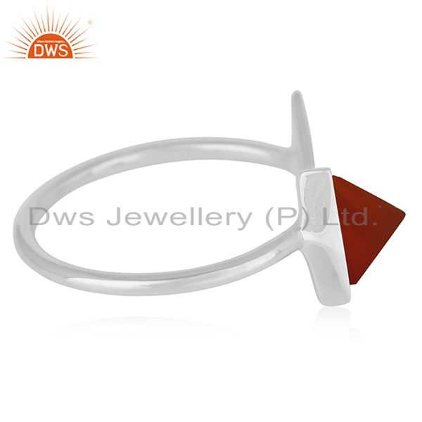 Suppliers Handmade 925 Silver Adjustable Ring Custom Jewelry Manufacturer
