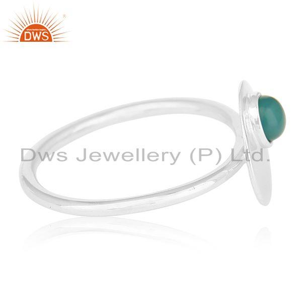 Suppliers 925 Sterling Silver Green Onyx Gemstone Handmade Ring Jewelry Manufacturers