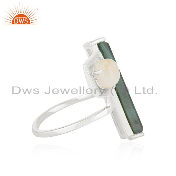 Suppliers 925 Sterling Silver Natural Multi Gemstone Ring Wholesale Suppliers