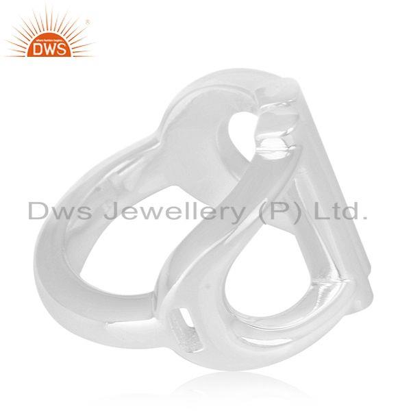 Suppliers 925 Sterling Silver Handmade Ring Manufacturer of Wedding Rings