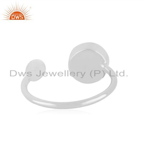 Suppliers Red Onyx Gemstone 925 Sterling Silver Handmade Girls Ring Jewelry Wholesale