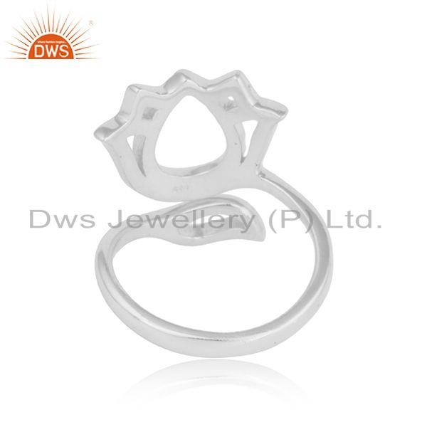 Suppliers Beautiful Louts Designer 925 Fine Silver Silver Womens Rings