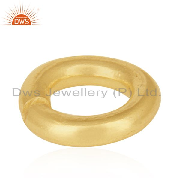 Suppliers 18K gold Plated Sterling Silver Link Kadi Assesories and Finding for Jewelry