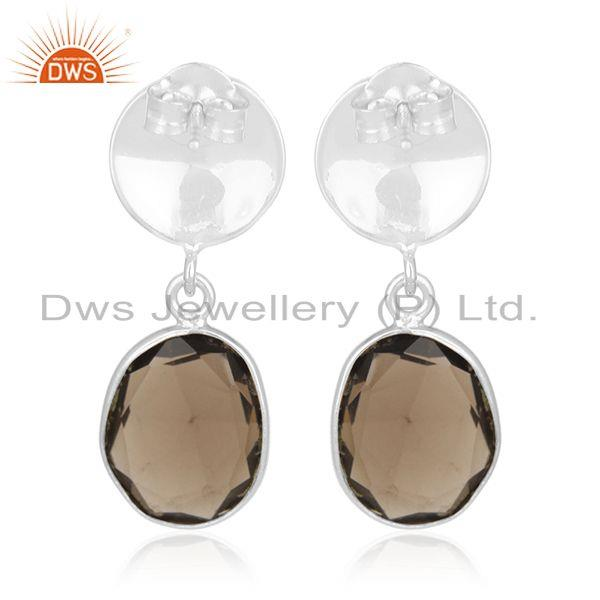 Suppliers 92.5 Sterling Silver Earrings Jewelry Manufacturer for Retailers from India