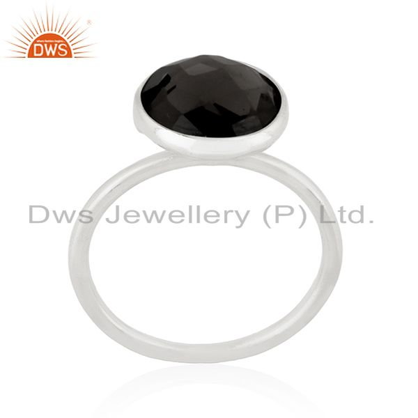 Suppliers 925 Sterling Silver Handmade Designer Gemstone Ring Jewelry Supplier for Brands