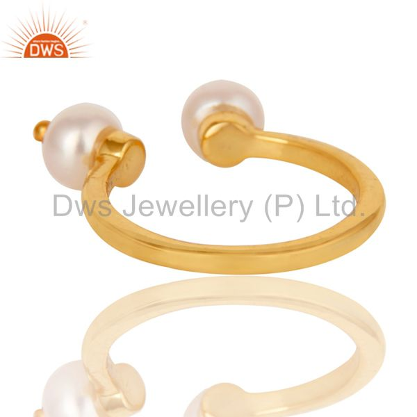 Pearl Ring Gemstone Jewelry