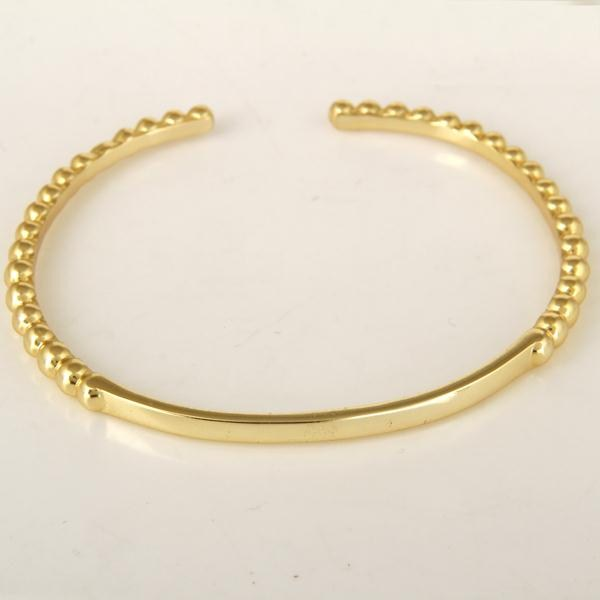 Indian Handmade Gold Plated Traditional Openable Brass Cuff Bangle