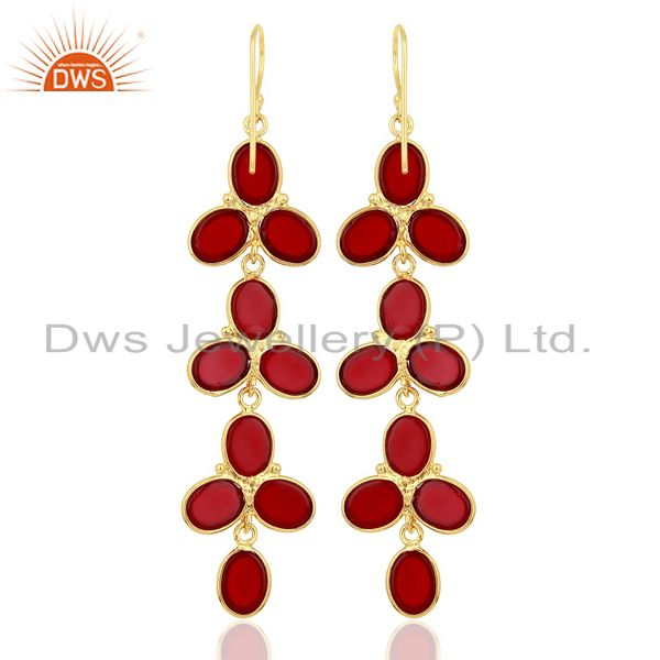 Hydro Red earring Fashion Jewelry