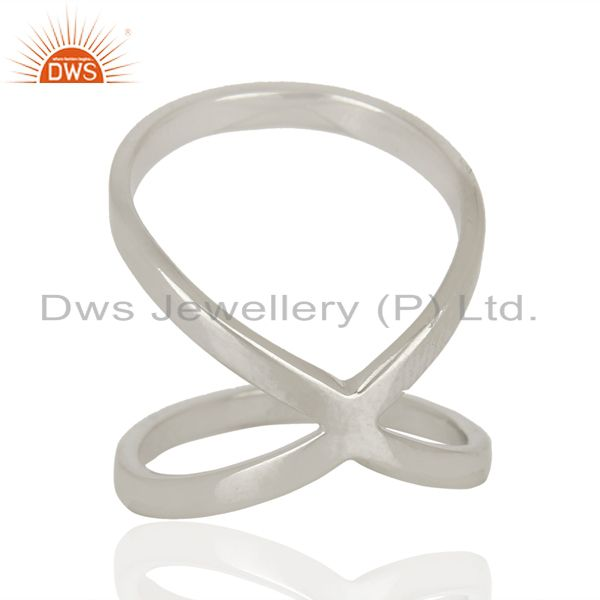 Wholesalers Designer 925 Sterling Fine Silver Girls Fashion Rings Jewelry Supplier