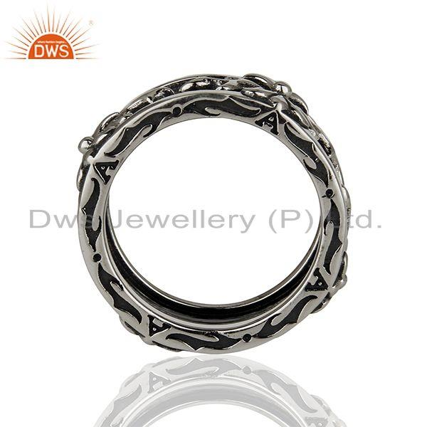 Wholesalers Designer 925 Sterling Silver Handcrafted Mens Promise Ring Wholesalers