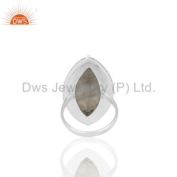 Wholesalers Antique 925 Sterling Silver Moonstone Cocktail Rings Manufacturer from India
