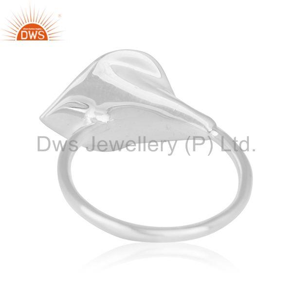 Wholesalers Designer 925 Silver Green Onyx Gemstone Private Label Ring Jewelry Wholesale