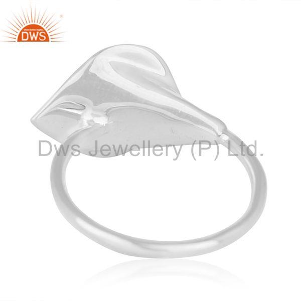 Wholesalers Red Onyx Gemstone New Designer Sterling Silver Ring Wholesale Wholesalers