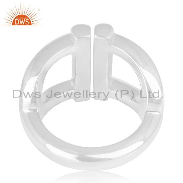 Wholesalers 925 Sterling Silver Handmade Ring Manufacturer of Wedding Rings