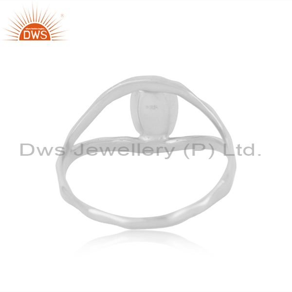 Wholesalers Indian Handcrafted Fine 92.5 Sterling Silver Ring Manufacturer in India