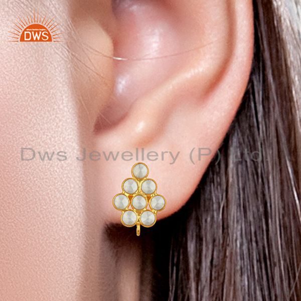 Cz Gemstone Earrings Jewelry Manufacturers