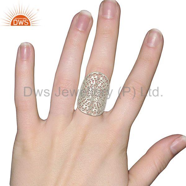 Designers Filigree 925 Sterling Silver Wholesale Designers and Manufacturers